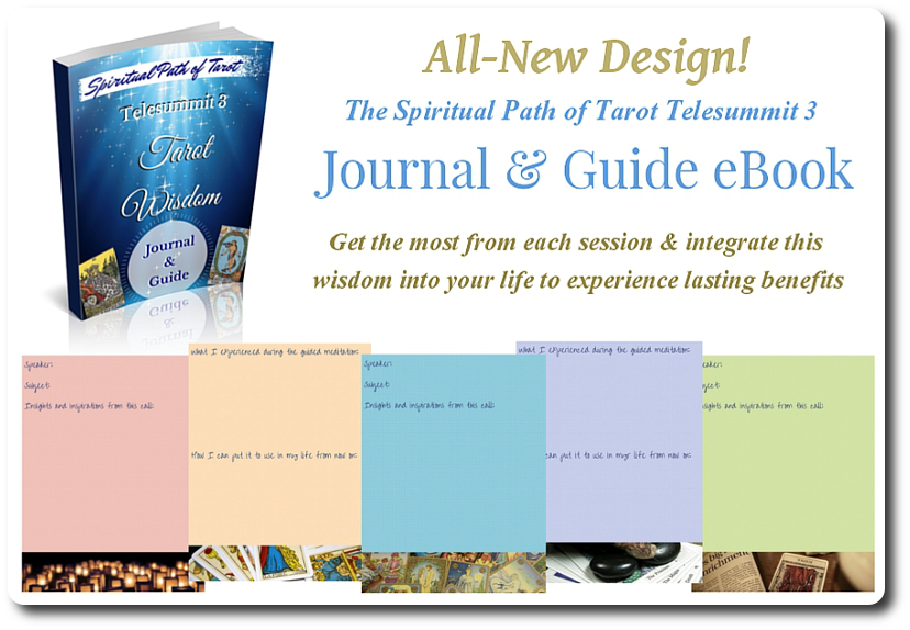 Spiritual Path of Tarot Telesummit 3 Journal and Guide graphic