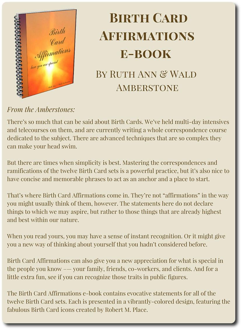 Tarot telesummit III Amberstones Bonus